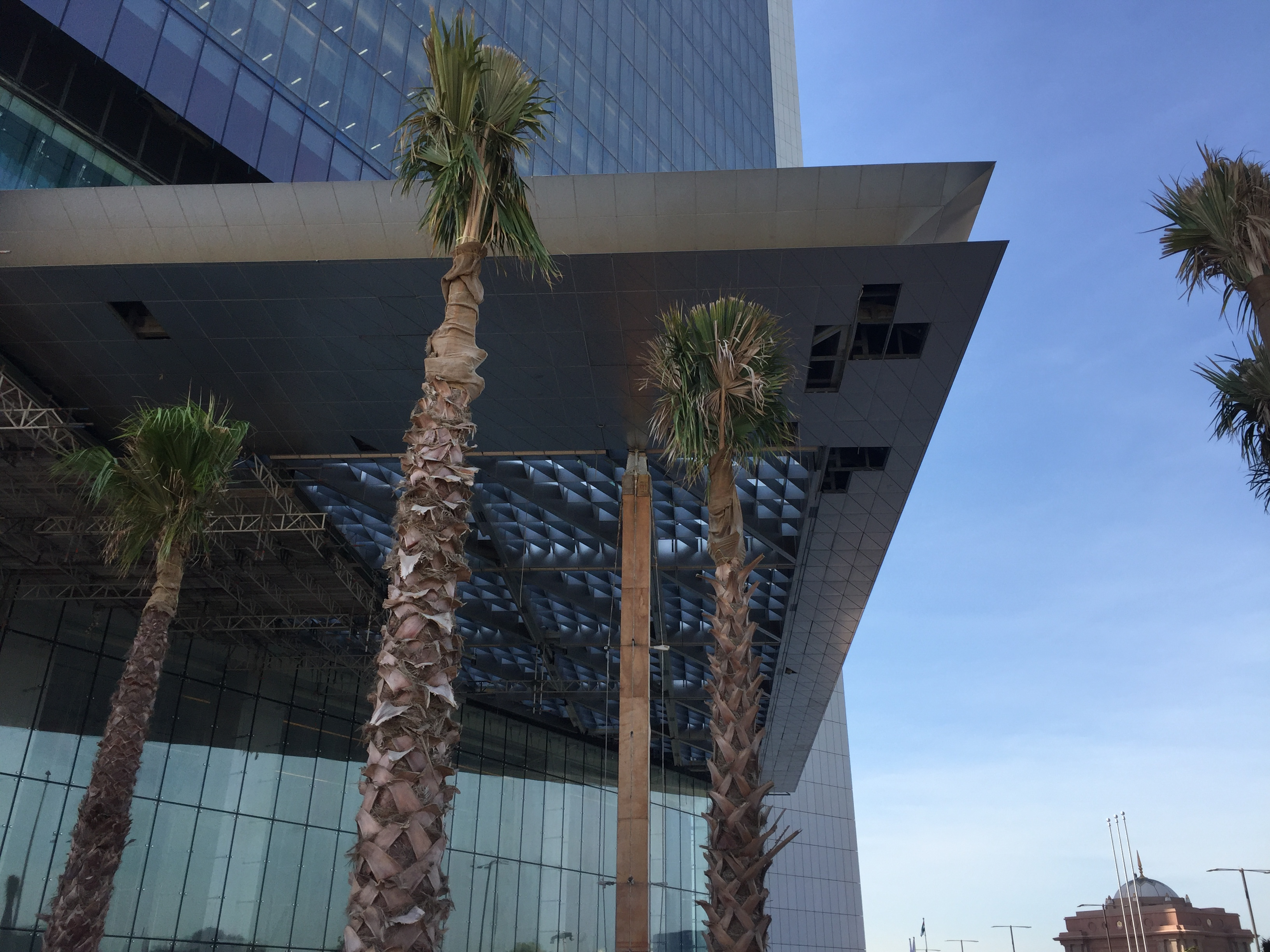 Architectural facade solutions project adnoc middle east panels