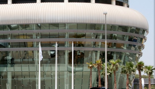 Abu Dhabi National Exhibition Centre architectural facade design AFS international