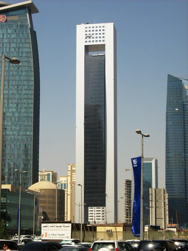 facade cladding project al faisal tower