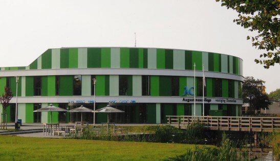 Augustinus VMBO School Groningen facade sandwich panels project