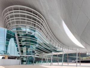 Architectural Panels Zayed University by Architectural Facade Solutions