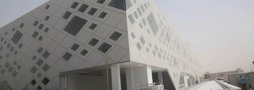 cladding panels in the middle east - cladding systems