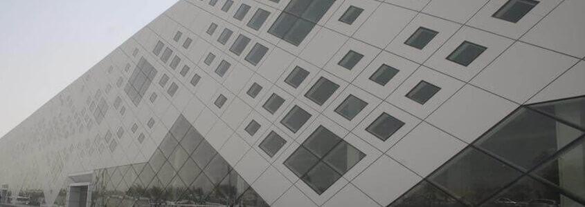 rainscreen cladding panels at garaffa mall