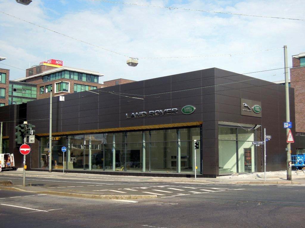 Jaguar Landrover Showroom