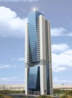 architectural facade panels and cladding systems by AFS International project Arwa tower Doha