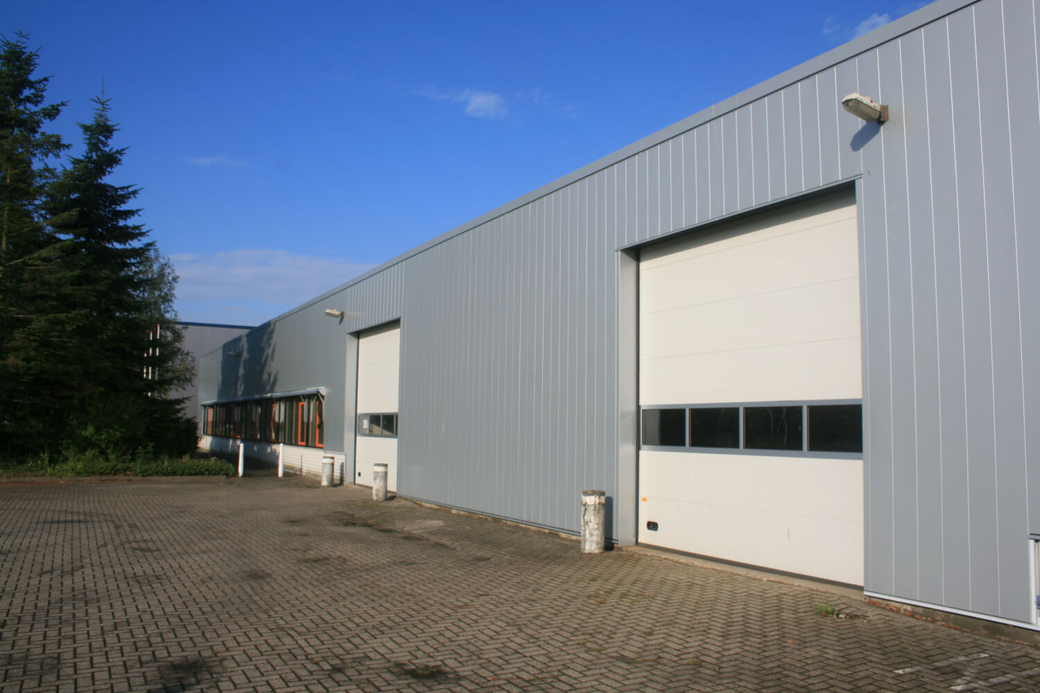 refurbishment office factory Architectural facade project panels