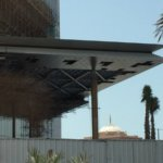 Architectural facade solutions project middle east