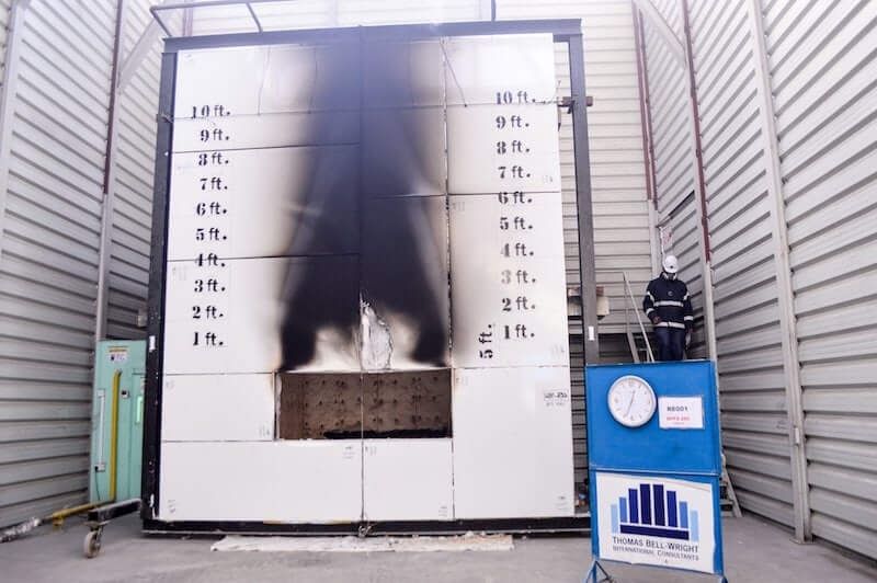 Fire Rated Cladding